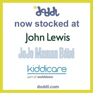 Doddl children's cutlery is now stocked on the high street